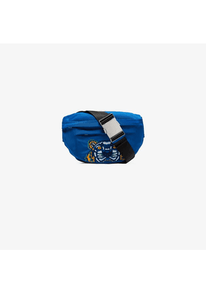 Kenzo electric blue tiger embroidered cross body bag