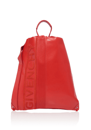 Givenchy MC3 Leather Drawstring Backpack