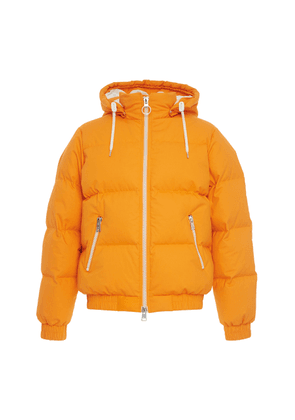 AMI Quilted Cotton Hooded Puffer Jacket