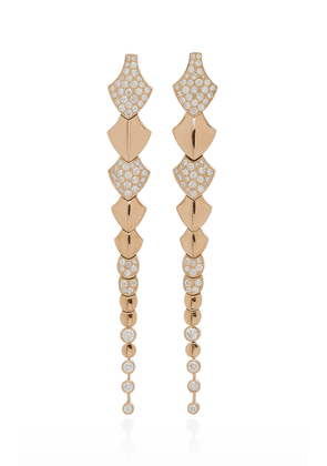 Akillis Python 18K Gold Diamond Earrings