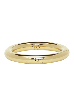 Le Gramme Gold Polished 'Le 7 Grammes' Bangle Ring