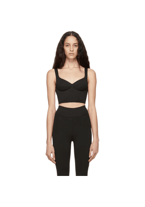 Ernest Leoty Black Crop Jade Bra