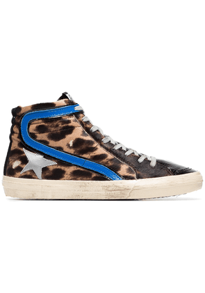 Golden Goose Deluxe Brand multicoloured superstar ponyhair and leather