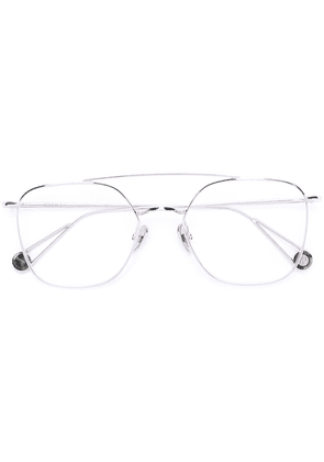 Ahlem square glasses frames - Metallic