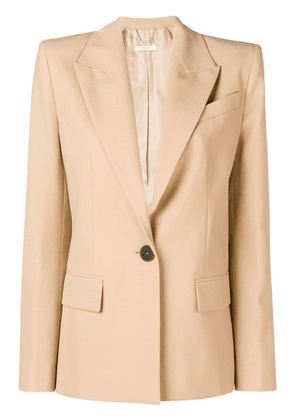 Givenchy front buttoned blazer - Neutrals