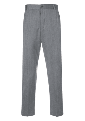 Thom Browne Rwb Stripe Unconstructed Chino - Grey