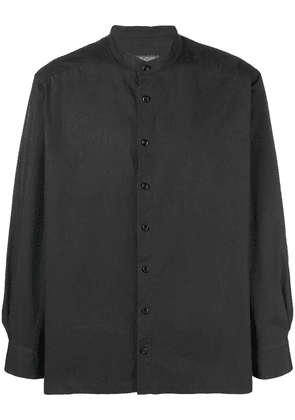 Casey Casey LA band collar shirt - Black