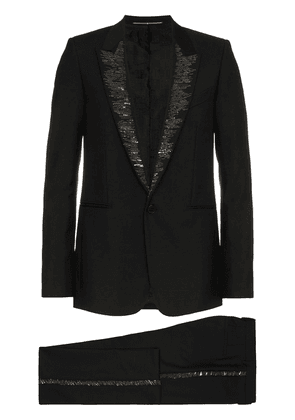 Givenchy bead embellished wool mohair blend tuxedo - Black