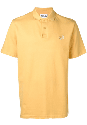 Band Of Outsiders embroidered logo polo shirt - Yellow