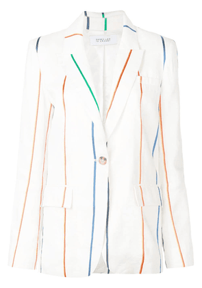 Derek Lam 10 Crosby Single Button Blazer - White