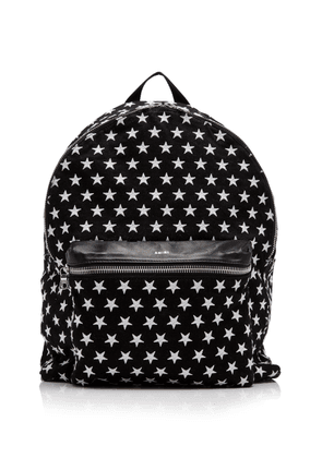 Amiri Embroidered Leather Backpack