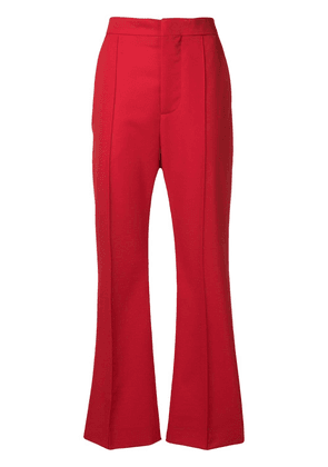 Marni high waisted trousers - Red