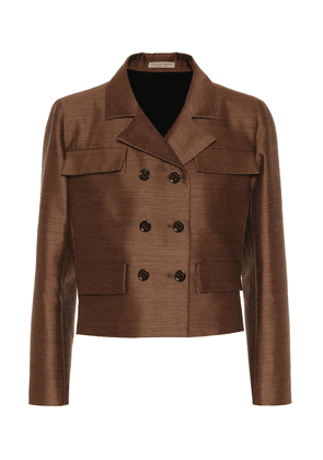 Wool and silk jacket
