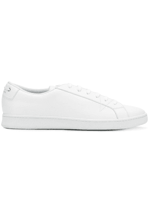 Car Shoe lace-up sneakers - White