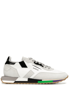 Ghoud panelled sneakers - White