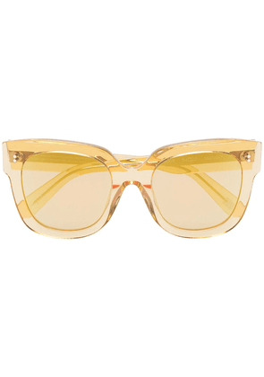 Chimi mango 008 square sunglasses - Yellow