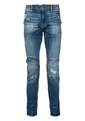 G-Star Raw Research structured skinny jeans - Blue