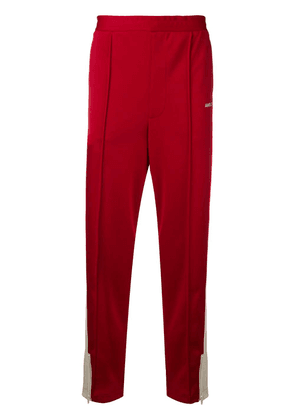 Ambush side stripe track pants - Red