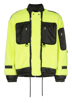 99% Is Fleece utility jacket - Yellow