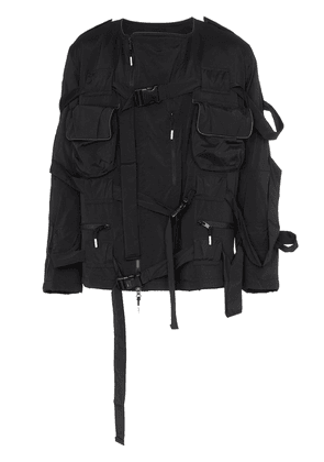 99% Is Bondage strap jacket - Black