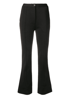 Givenchy high-waisted flared trousers - Black