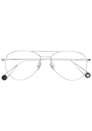 Ahlem Pantheon clip-on glasses - Silver