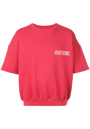 Adaptation logo print T-shirt - Red