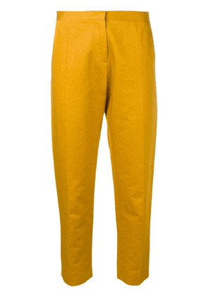 Marni cropped tailored trousers - Yellow