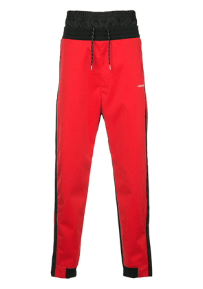 Ambush layered track pants - Black