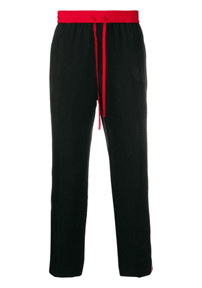 Gucci side logo track pants - Black