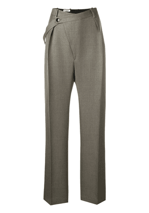 Jil Sander loose-fit tailored trousers - Grey