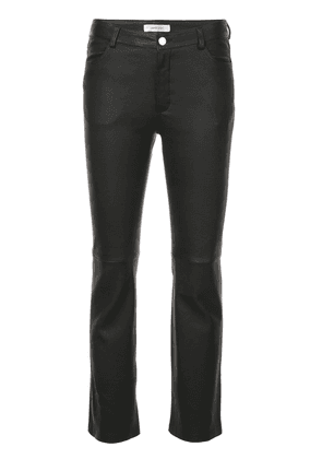 Anine Bing skinny fit trousers - Black