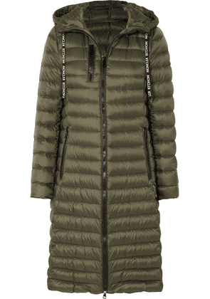Moncler - Quilted Shell Down Jacket - Army green