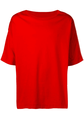 Casey Casey oversized T-shirt - Red