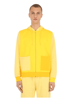 Le Sweat Soleil Cotton Zip-up Hoodie