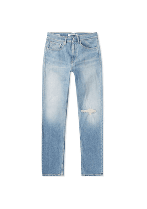Calvin Klein CKJ 016 Skinny West Distressed Jean Legion Blue