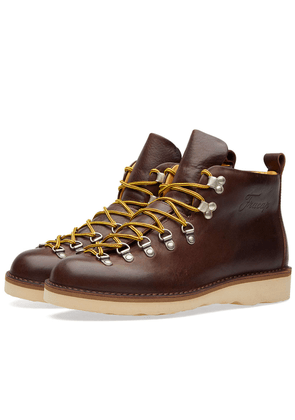 Fracap M120 Natural Vibram Sole Scarponcino Boot Dark Brown