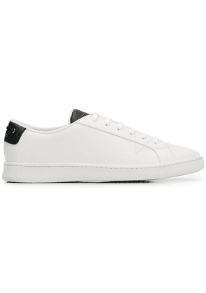 Car Shoe classic lace-up sneakers - White