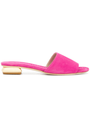 Anna F. contrast open-toe sandals - Pink
