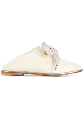 Agl lace up loafers - White