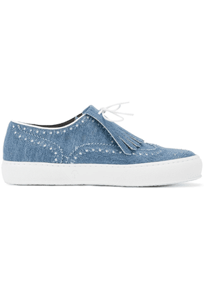 3c9a0238ea7 Robert Clergerie Tolka fringed sneakers - Blue