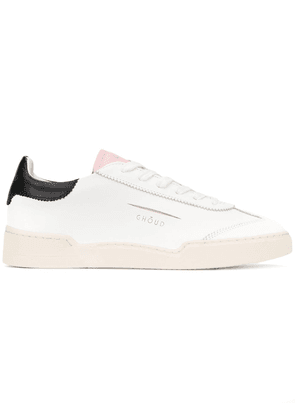 Ghoud lace-up sneakers - White