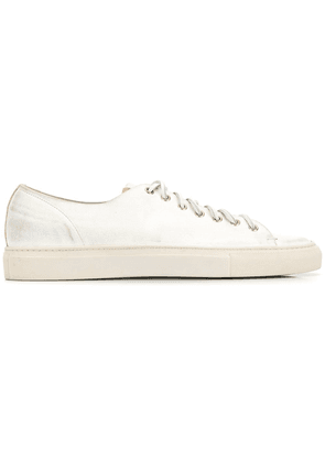 Buttero lace-up low sneakers - White
