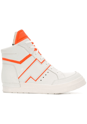 Cinzia Araia Skin hi-top sneakers - White