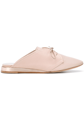 Agl lace-up mules - Pink