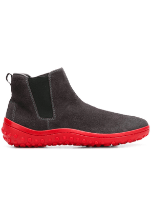 Car Shoe contrast sole boots - Grey