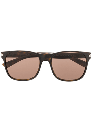 Bulgari Diagono sunglasses - Brown