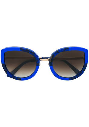 Face À Face round cat-eye sunglasses - Blue