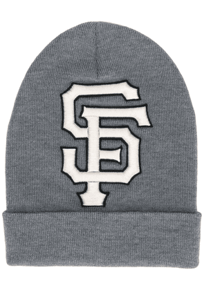 Gucci SF Giants patch beanie - Grey