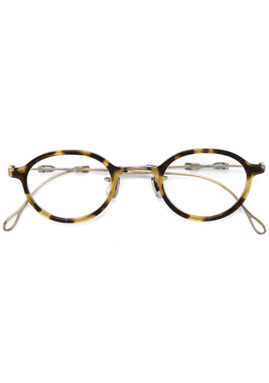 Eyevan7285 round frame glasses - Brown